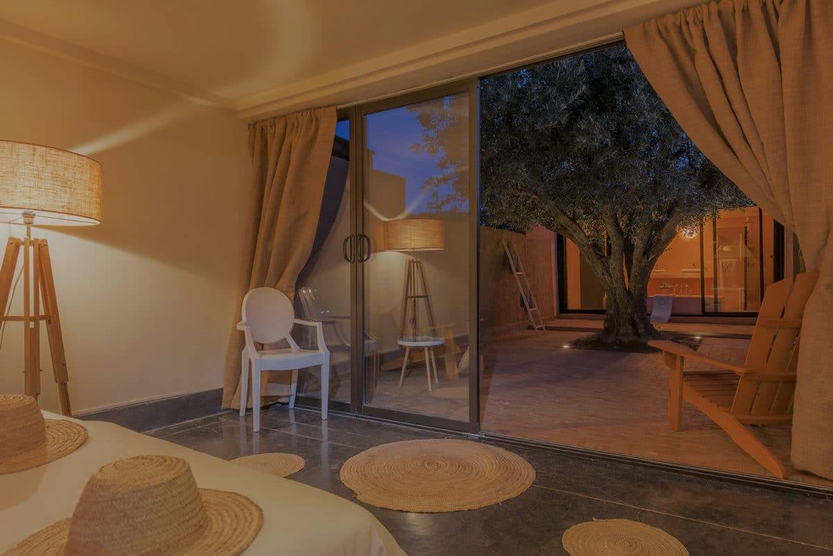 room in luxury villa marrakech