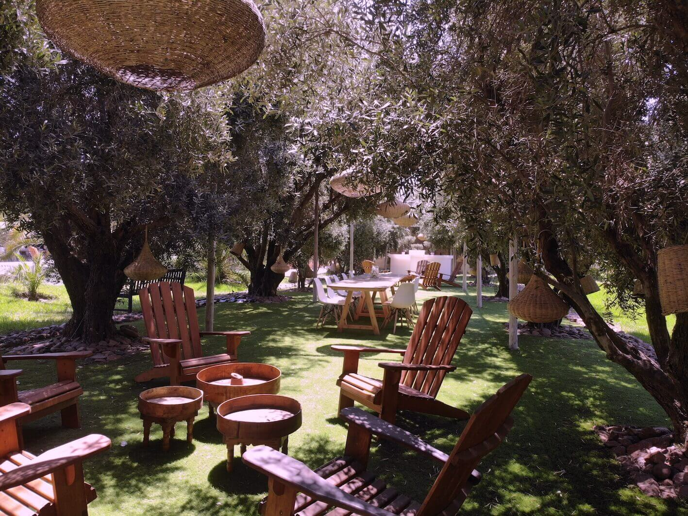 Marrakech villa rentals with garden