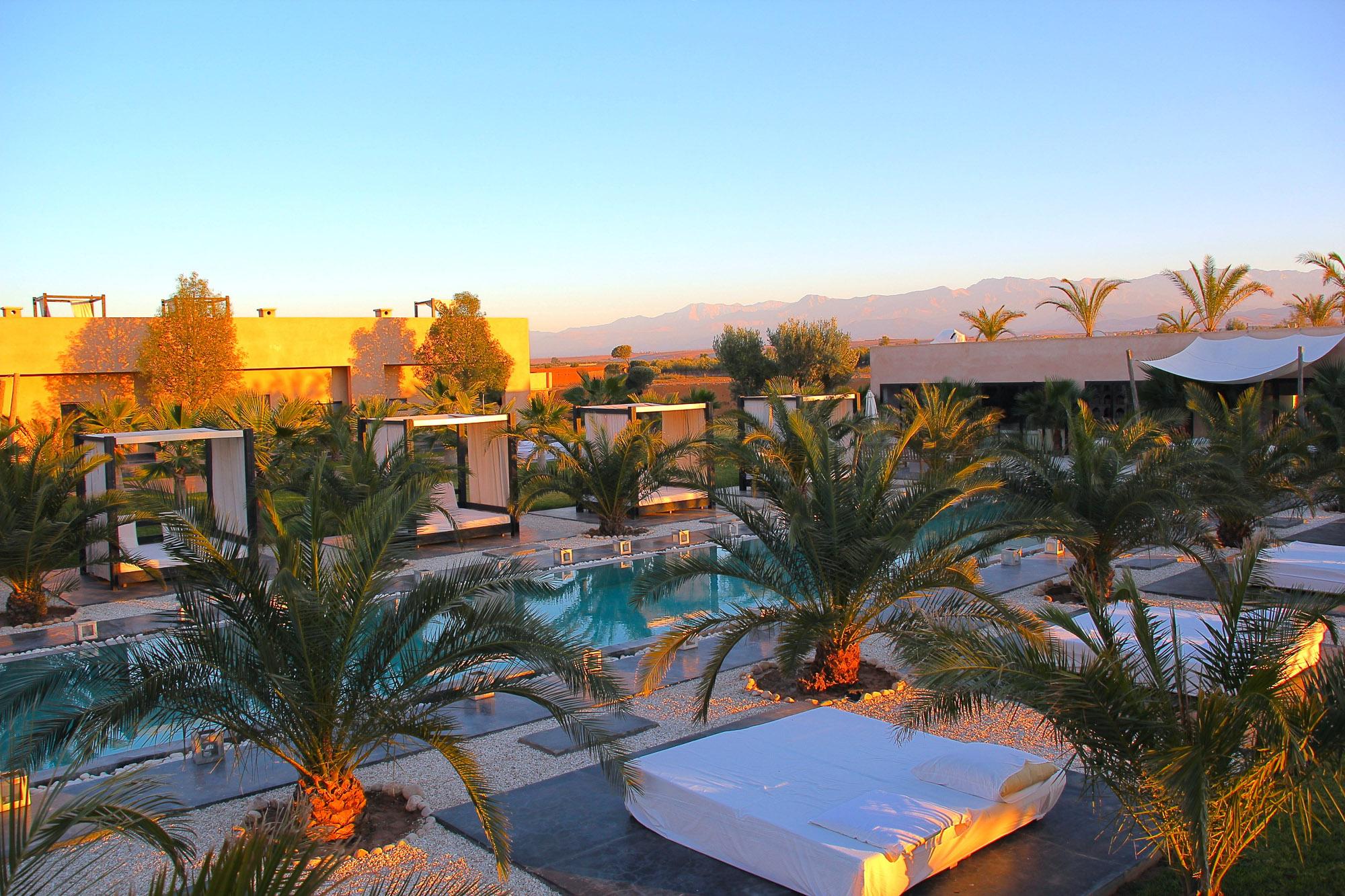 luxury house rental marrakech