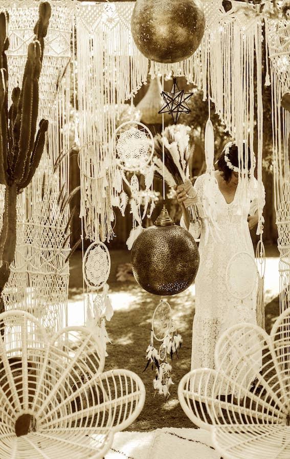 bohemian weddings in marrakech