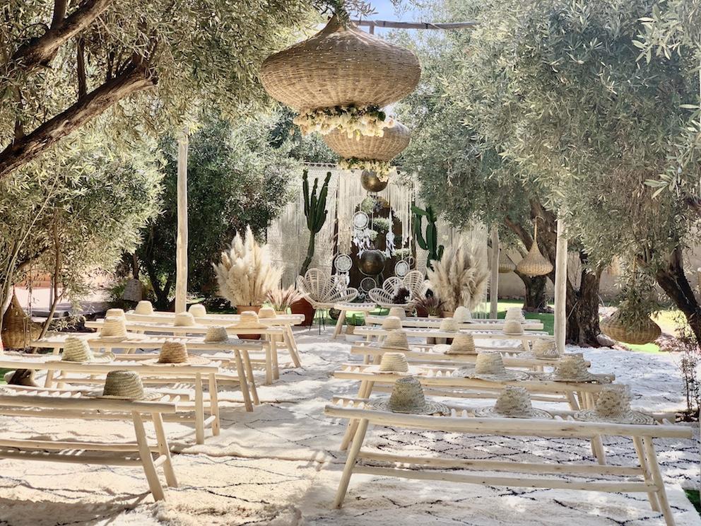 villa rental bohemian marrakech