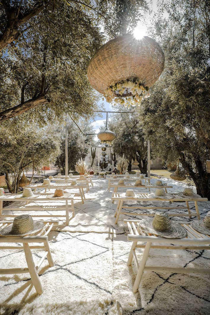 weddings boho marrakech