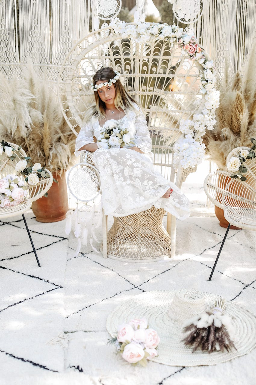 bohemian weddings boho