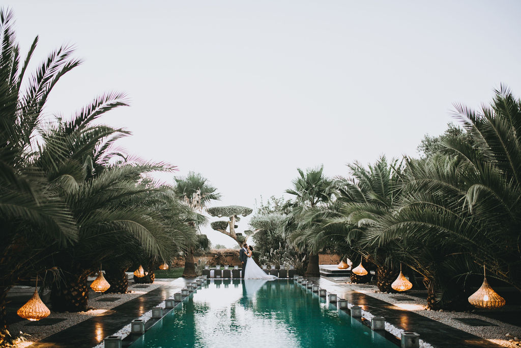 marrakech weddings in luxury villa rental