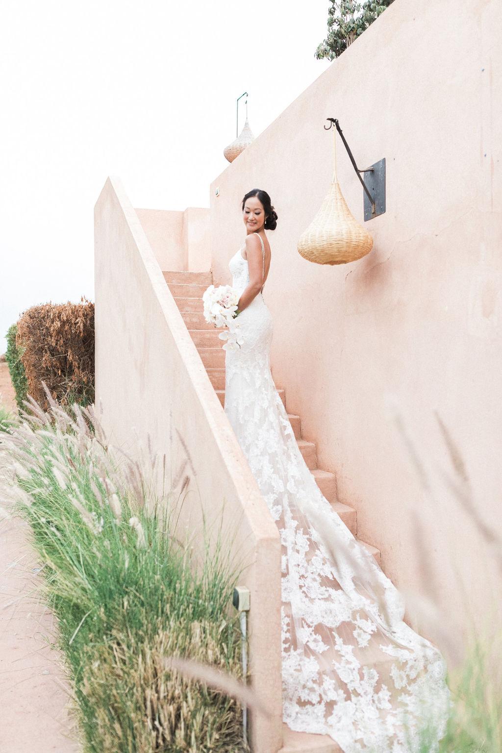 marrakech wedding in villa rental taj