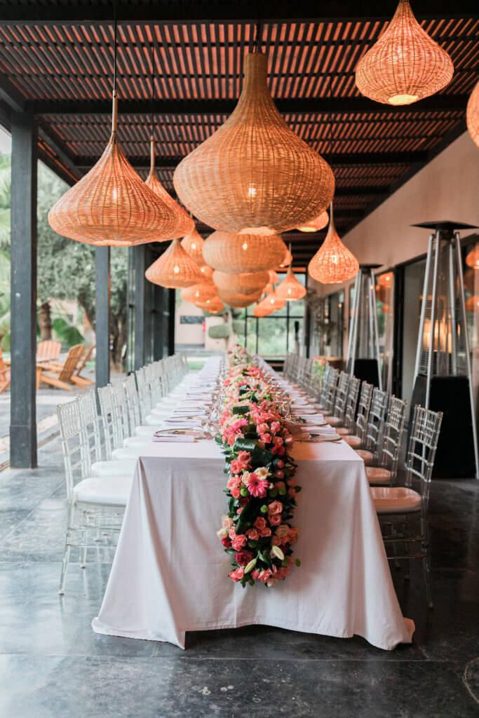 villa rental wedding in marrakech