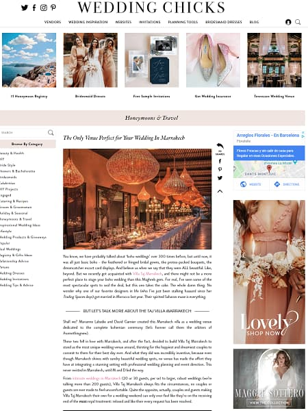 The Only Venue Perfect for Your Wedding In Marrakech