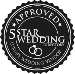 Logo 5 star wedding directory