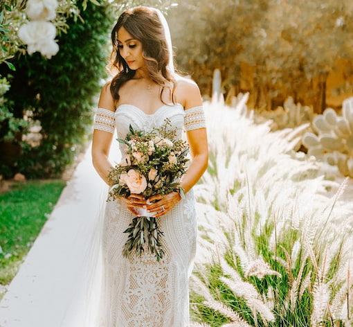 Traditional Moroccan bride